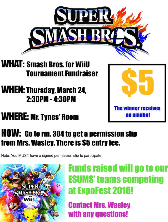 Smash Bros Tourney